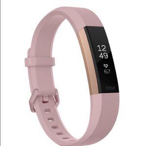 Accessories - Fitbit Alta HR Pink Rose Gold